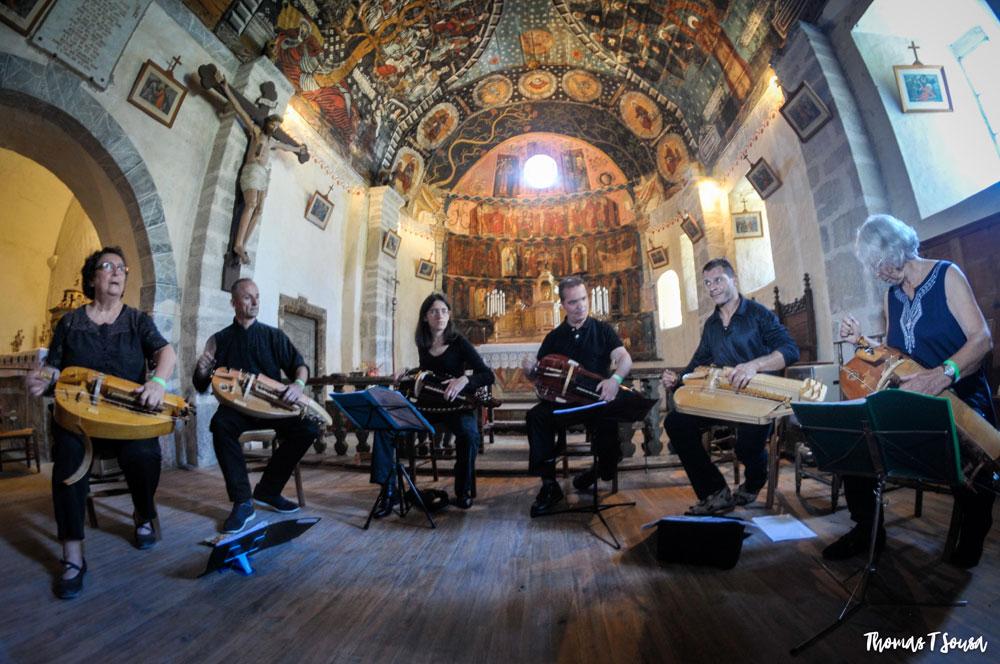 oncert dans l'église de Vielle-Louron